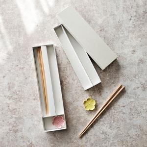 箸・箸置き用ギフト箱 ラッピング代込 2種類から選んでください。【メール便OK】 業務用食器|kitchengoods-bell