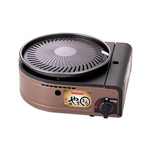 煙が出ない 焼肉用ロースターグリル 「やきまる」 CB-SLG-1 カセットガスグリル/一般家庭用卓...