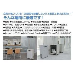 送料無料 新品 オフィス 商用空間 施設 一般家庭用 PTP蒸気加湿器 Humidas ヒュミダス HD-M1100-LCS|kitchenking|03