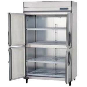 送料無料 新品 フクシマ 4枚扉冷蔵庫 URN-120RM6-F|kitchenking