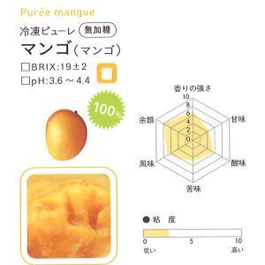 冷凍ピューレ ボワロン 無加糖 マンゴー   1kg 【通年クール便】【お取寄せ】 冷凍便をお選び下さい|kitchenmaster