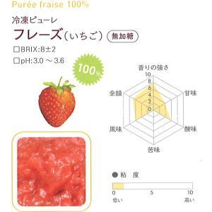 冷凍ピューレ ボワロン 無加糖 フレーズ (いちご) 1kgx6個 【通年クール便】【お取寄せ】 冷凍便をお選び下さい|kitchenmaster