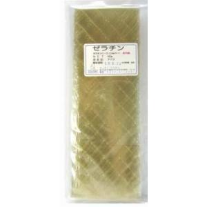 冷凍不可★板ゼラチン シルバー 50g|kitchenmaster