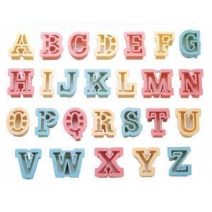 クッキー抜き型 アルファベット 26文字 [1733] 【気まぐれセール】|kitchenmaster