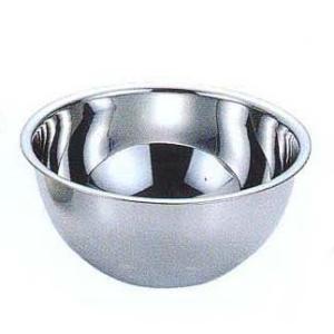 深口ステンレスボウル 直径21cm  製菓道具 パン道具 ボール|kitchenmaster