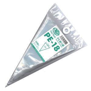 PE 絞り袋 PE-18 18cmx11cm  50枚入 使い切り絞り袋 アイシングにおススメ [-]|kitchenmaster