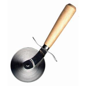 ピザカッター 木柄 [3268]  kitchenmaster