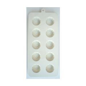 チョコレート流し型 花型 10ケ取 [1157]|kitchenmaster