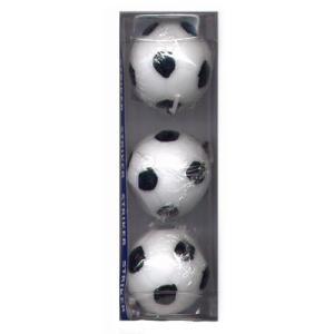 キャンドル サッカーボール 3個入 [B5522-00-20] kitchenmaster