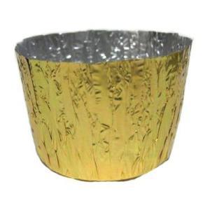 カップ型 金 大 約100枚入 アルミ箔 [SRE-0540]|kitchenmaster