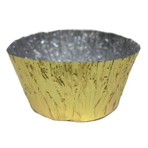 カップ型 金 小 約100枚入 アルミ箔 [SRE-0425]|kitchenmaster