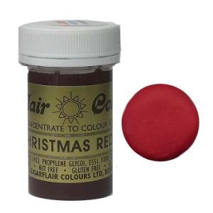 冷凍不可★手芸用 クリスマス・レッド(赤色) 25g [A114]  シュガークラフト|kitchenmaster