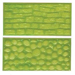 マット インプレッションマット(2) 2種 石垣 [IMP2]  シュガークラフト|kitchenmaster
