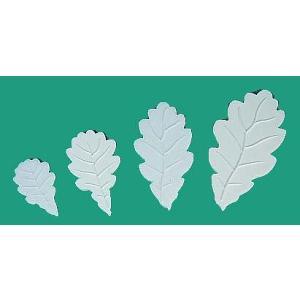 マット オークの葉 脈付け 4サイズ [147/OL5-8]  シュガークラフト 【気まぐれセール】|kitchenmaster
