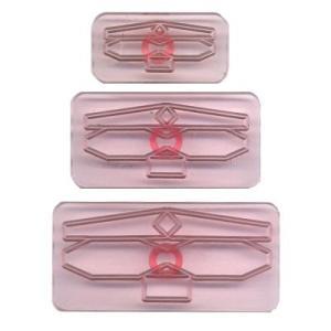 抜き型 リボン サイズ1〜3 3サイズ [106M004]  シュガークラフト|kitchenmaster