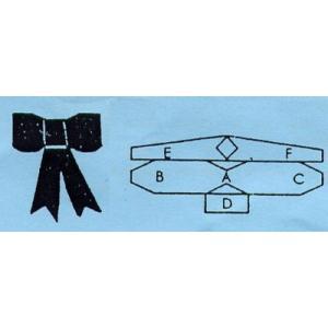 抜き型 リボン サイズ1〜3 3サイズ [106M004]  シュガークラフト|kitchenmaster|03