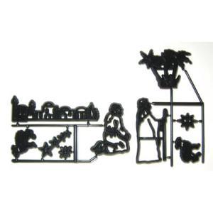 抜き型 ダビデの星を仰ぐ羊飼い達 [pw68]  シュガークラフト|kitchenmaster