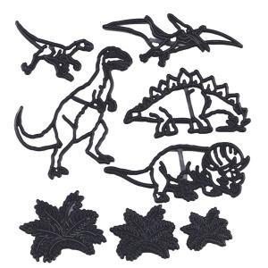 押し型 恐竜、草 8種 [pw78]  シュガークラフト|kitchenmaster