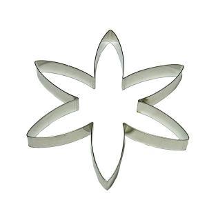 抜き型 6弁ゆりの花びら [710]  シュガークラフト|kitchenmaster