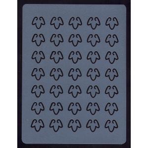 マット 木の葉デザインレース 35個取り 透明 [GLM35]  シュガークラフト 【気まぐれセール】|kitchenmaster