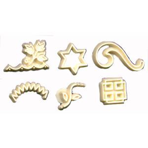 スタンプセット ダビデの星他 6種 [HPE-03]  シュガークラフト  kitchenmaster