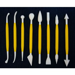 PME 細工棒 8本セット [BK-123] 【お買い得セット】  シュガークラフト|kitchenmaster