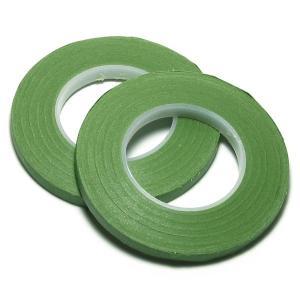 フローラルテープ 6mm幅x27M 2個入 ライト・グリーン   シュガークラフト|kitchenmaster