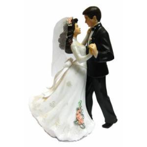 結婚人形 ファーストダンス 150mm [202-411] 【在庫限り】  シュガークラフト|kitchenmaster