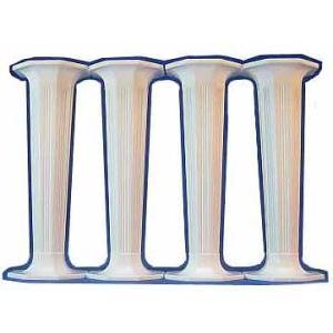 ピラー 八角/大/白 4.5インチ4本セット [45WH]  シュガークラフト|kitchenmaster