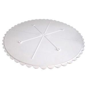 ケーキセパレーター プラスチック 14インチ [302-14] 旧タイプ 少々難あり (面 米マーク)  シュガークラフト|kitchenmaster