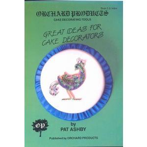オーチャード社#5 GREAT IDEAS FOR CAKE DECORATORS 【在庫限り】  シュガークラフト|kitchenmaster