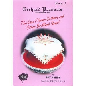 オーチャード社#11 THE LACE FLOWERS AND OTHER BRILLIANT IDEAS 【在庫限り】  シュガークラフト|kitchenmaster