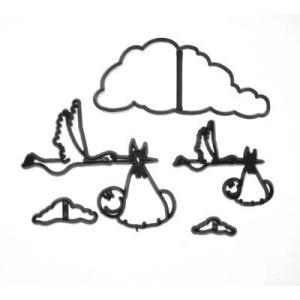 抜き型 こうのとり と 赤ちゃん [pw93]  シュガークラフト|kitchenmaster