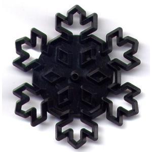 抜き型 雪の結晶 大 [pw97]  シュガークラフト|kitchenmaster