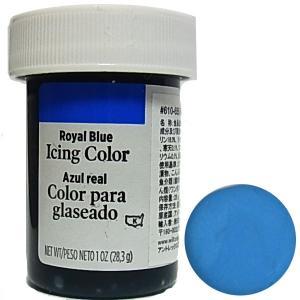 冷凍不可★食品添加物 ウィルトン ローヤルブルー アイシングカラー 28g  [610-655]|kitchenmaster