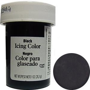 冷凍不可★食品添加物 ウィルトン ブラック アイシングカラー 28g  [610-981]|kitchenmaster