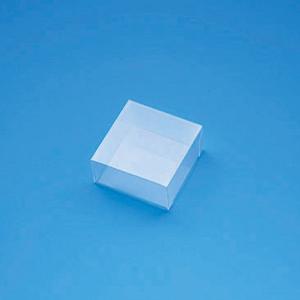 クリスタルボックス  C−1 身・フタかぶせ式透明ボックス 0.3×50×50×25mm  シュガークラフト|kitchenmaster