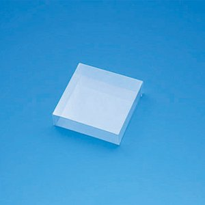 クリスタルボックス  C−2 身・フタかぶせ式透明ボックス 0.3×85×85×25mm  シュガークラフト|kitchenmaster
