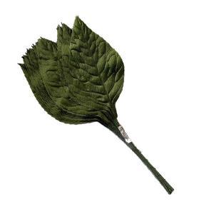造花用 葉  約20枚  コサージュなどに 【在庫限り】 【特価】|kitchenmaster