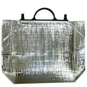 クールバッグ 銀色 幅38cmx高さ32cmxマチ14cm 【在庫限り】|kitchenmaster