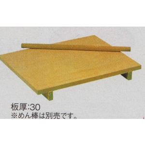 唐檜製 のし台 750x600xH75mm 板厚30mm 麺棒別売 【在庫限り】 【特価】|kitchenmaster