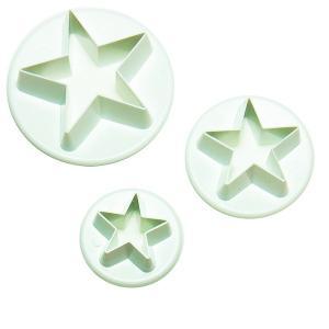 抜き型 星 3サイズ  [701] 【在庫限り】 【特価】|kitchenmaster