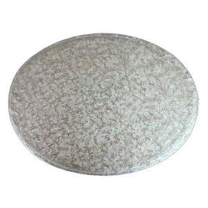ケーキドラム 楕円形・銀 9インチ 【在庫限り】|kitchenmaster