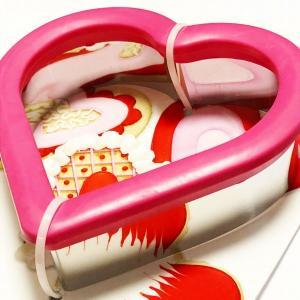 クッキー抜き型 wilton  コンフォートグリップ ハート ピンク 約10x10cm 【在庫限り】|kitchenmaster