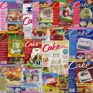 UK雑誌Cake 5冊セット (どの号が届くか お楽しみ! 写真はイメージです)【在庫処分特価】|kitchenmaster