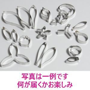 よりどり10 金属製 シュガークラフト用抜き型 少々難アリ 10セット (写真は一例です。何が届くかお楽しみ)|kitchenmaster