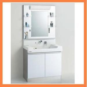 クリナップ 洗面化粧台 S(エス) 間口90cm ミラーのみ 一面鏡  M-901SPW M901SPW|kitchenoutlet