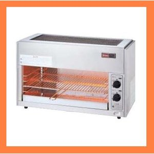 リンナイ 業務用ガス赤外線グリラー(上火式) ペットミニ6号 RGP-62SV|kitchenoutlet