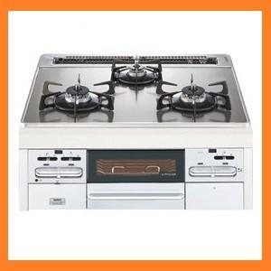 新品 ノーリツ ガラストップ ビルトインガスコンロ 無水両面焼きグリル付 N3WN3G 幅60cm 13A kitchenoutlet