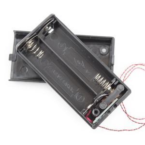 送料無料 ハイキューパーツ ワンタッチLEDシリーズ スイッチ付キ単3電池ケース 電子回路組ミ込ミ済ミ 1 BCS-2ASW kite